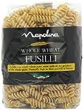 Napolina Wholewheat Fusilli Pasta 500 g (Pack of 6)