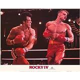 Rocky 4 Poster Movie 11x14 Sylvester Stallone Talia Shire Dolph Lundgren Brigitte Nielsen