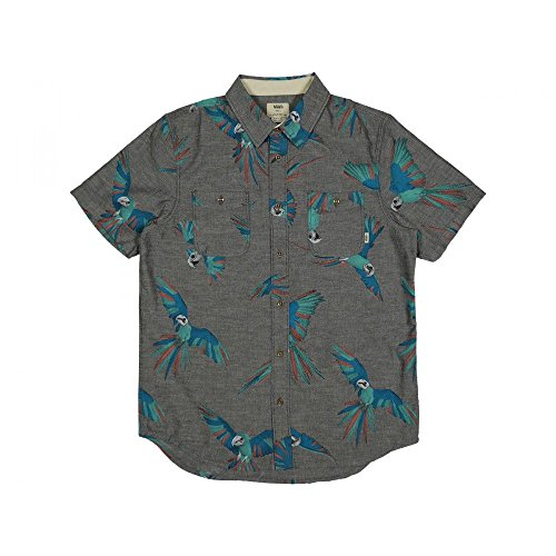 Vans M Keyes New Charcoal - Camicia Uomo Vans (S, New Charcoal)