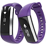 Apltch Heartrate Monitor Smart Watch Tiring Sleeping Blood Oxygen Blood Pressure Monitor Smartband Pedometer Calorie...