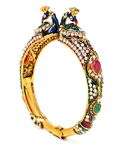 Akshim Multicolour Alloy Bangle For Women - B00NPYCAV0