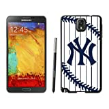 Galaxy Note 3 Case MLB New York Yankees Samsung Galaxy Note 3 Plastic Case Cover 01_16563