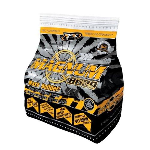 Magnum 8000 - Mass Weight Gainer Whey Protein Powder *1kg CHOCOLATE*