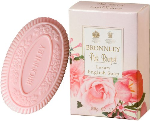 Bronnley Pink Bouquet 100g/3.5oz Luxury English Soap