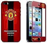 マンチェスターユナイテッド iphone5/5s 対応 保護フィルム 兼 スキンシール 【Manchester United】