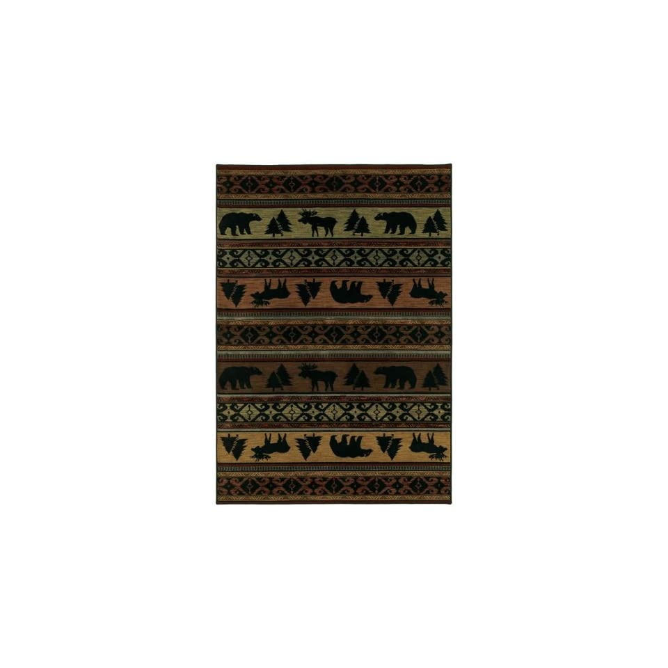 Shaw Area Rugs Phillip Crowe Timber Creek Rug Canyon Trail Multi 03440 78X1010 Rectangle