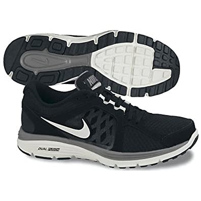Nike Dual Fusion Mens Running Shoes Black/White 8 UK UK