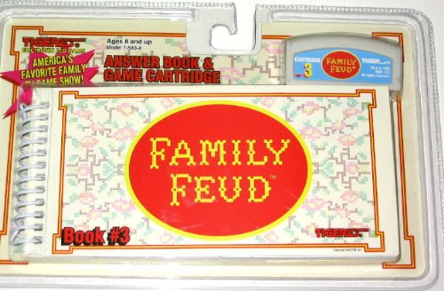 Family Feud Anwers Book and Cartridge Vol. 3 - 1