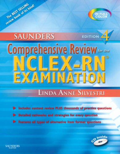 Saunders Comprehensive Review for NCLEX/RN Pdf