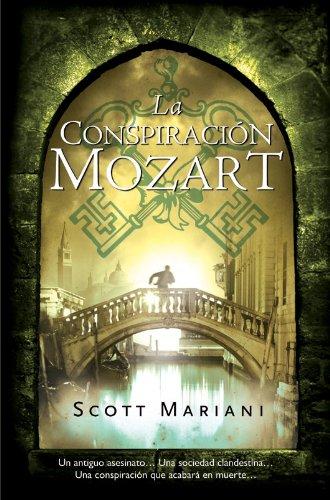 Portada del libro La conspiración Mozart de Scott Mariani