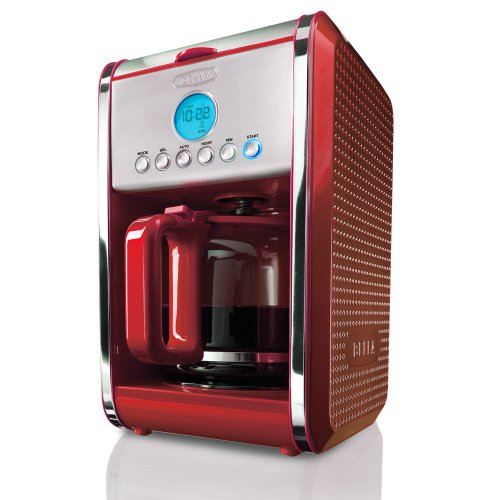 BELLA Dots Collection 12-Cup Programmable Coffee Maker Review Best coffeemakers