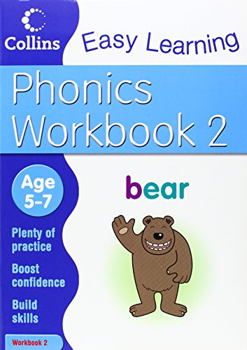 Phonics Workbook 2 (Collins Easy Learning Age 5-7) PDF