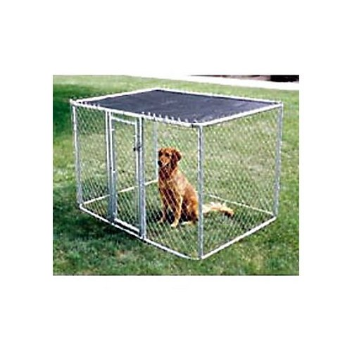 Midwest K-9 Chain Link Dog Kennel 6Ftx4Ftx4Ft front-584299