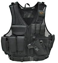 Galati Gear Standard Deluxe Tactical Vest (Black)