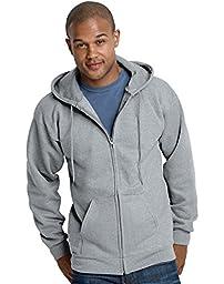 Hanes Mens Ultimate Cotton® Heavyweight Full Zip Hoodie