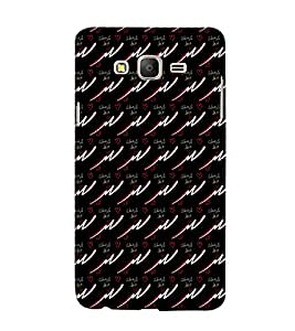 EPICCASE trendy waves Mobile Back Case Cover For Samsung Galaxy E7 (Designer Case)