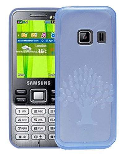 Samsung Metro Duos C3322 Case,Purple Soft, Lightweight,Shock Absorbing Tpu Back Case Cover  available at amazon for Rs.195