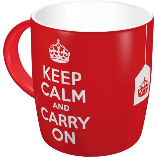 Nostalgic-art 43009 tazza United Kingdom Keep Calm and Carry On