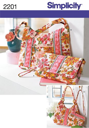 Simplicity Sewing Pattern 2201 Bags, One Size (Purse Sewing Patterns compare prices)