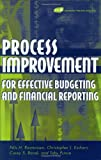 Process improvement for effective budgeting and financial reporting