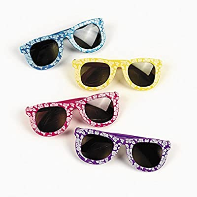 Hibiscus Sunglasses from Fun Express
