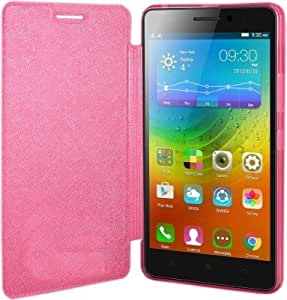 Dk Caidea flip Cover for lenovo A6000 (pink)