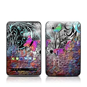Butterfly Wall Design Protective Decal Skin Sticker for Samsung Galaxy Tab 2 (7 inch) GT-P3113 Tablet from MyGift