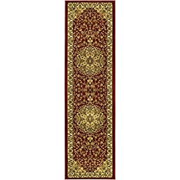 Safavieh Lyndhurst Collection LNH222B Traditional Oriental Medallion Red and Ivory Runner (2\'3\
