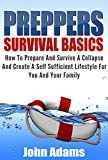 Preppers Survival Basics : How To Prepare And Survive A Collapse And Create A Self Sufficient Lifestyle For You And Your Family (Prepper, Preppers Survival, Preppers Guide, Preppers book, Prepping)