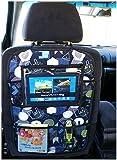 Auto asiento trasero Tablet iPad Organizador Multi Funda Protector de espalda de asiento nr 1 [007]