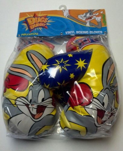 Bugs Bunny Vinyl Boxing Gloves