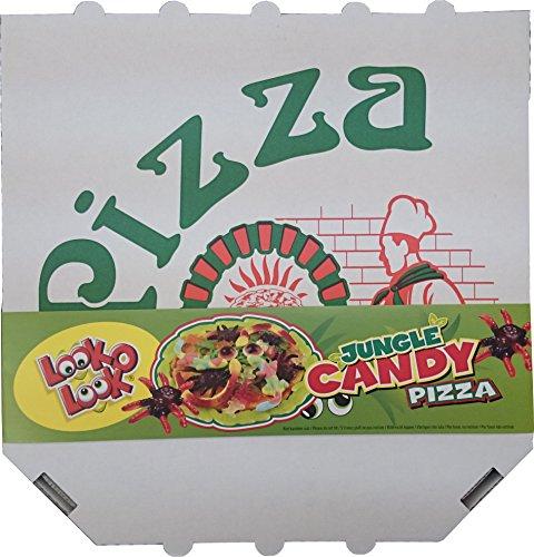 LOOK O LOOK JUNGLE CANDY PIZZA FRUCHTGUMMI DSCHUNGELPIZZA 435G