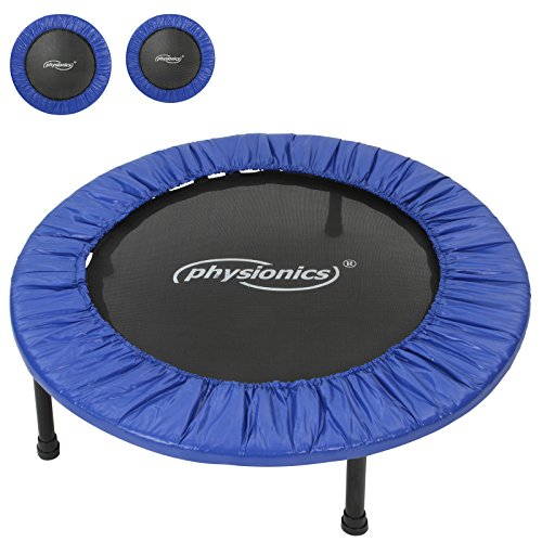 Physionics Mini trampolino elastico e robusto per interno ed esterno diametro a scelta (81 cm)
