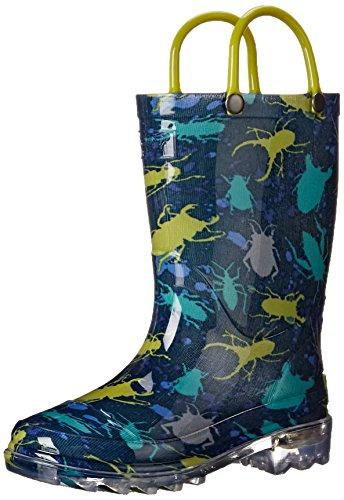 Western-Chief-Kids-Bug-Splatter-Lighted-Rain-Pull-On-Boot