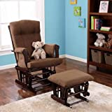 Patio Chairs Baby Adjustable Glider Rocker and Ottoman, Espresso for Home Discount Kid Safe Low Price Lights Comfortable Affordable Best Relax and Enjoy Decorative Beautiful Perfect Conservatories Design
