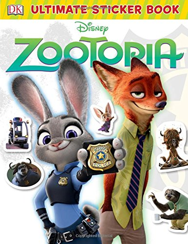 Ultimate Sticker Book: Disney Zootopia (Ultimate Sticker Collections)