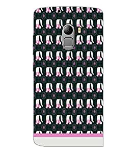 PrintDhaba Elephant Pattern D-1991 Back Case Cover for LENOVO K4 NOTE A7010a48 (Multi-Coloured)