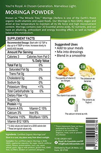 Moringa Oleifera Leaf Powder Organic