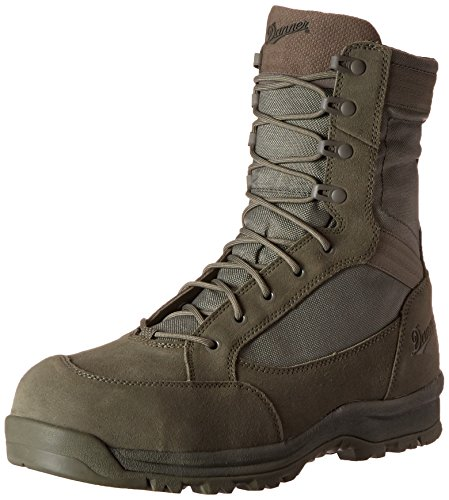 Danner Men's Tanicus Side-Zip 8 Inch Sage NMT Uniform Boot, Sage, 9 2E US (Side Zip Sage Green compare prices)