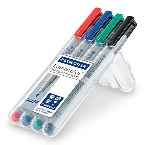 staedtler-315-wp4-lumocolor-universal-non-permanent-medium-pens-assorted-colours