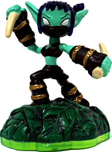 Skylanders Spyros Adventure LOOSE Mini Figure Stealth Elf Includes Card Online Code - 1