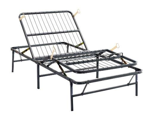 pragma bed simpleadjust head foot manually adjustable bed frame twin - Adjustable Beds Frames