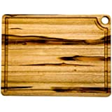 "Proteak Rectangular Cutting Board, 18"" x 14"" x 3/4"" with Corner Hole #517"