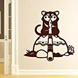 Decal Style Tasmanian Wall Sticker Small Size-21*21 Inch - B00WSLZYUK