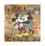FUJICOLOR album free Disney character EF-10 Demi B (BK) Mickey Mouse [Black mount] 11-20 page character Brown 22 409 (japan import)
