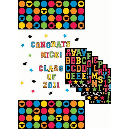 Personalized Grad Door Decoration - 1