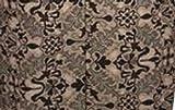 Della Q Small Lily Zip Pouch for Accessories 112-1 Toffee Crumpet from Della Q