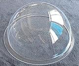 Acrylic Dome / Plastic Hemisphere - Clear - 12