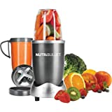 NutriBullet 8-Piece Blender, Gray (Certified Refurbished)