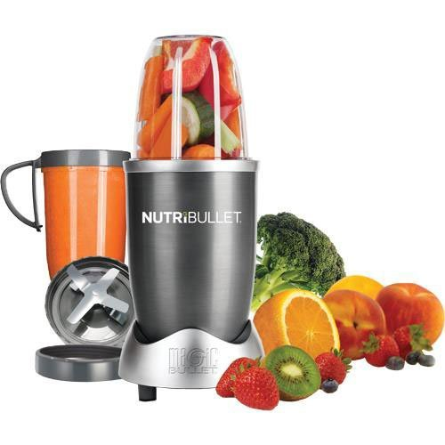 Fantastic Deal! NutriBullet (Gray) Blender/Mixer, 8-piece Set (Certified Refurbished)